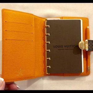 Louis Vuitton Monogram Koala Small Ring Agenda